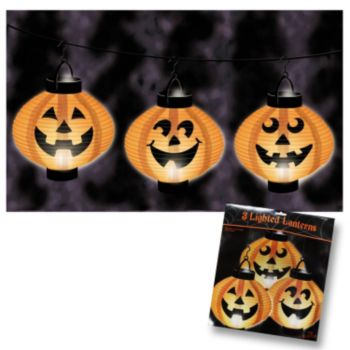 Light Up  Pumpkin Lanterns