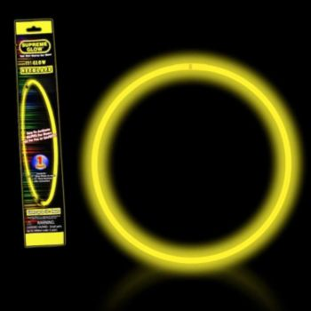 Yellow 22'' Retail Pack Glow Necklace