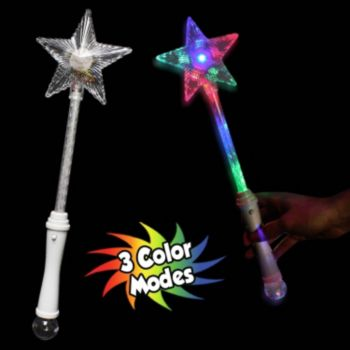Multi-Color LED Star Wand - 16 Inch