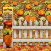 Pumpkin Patch Scene Setter Room Roll
