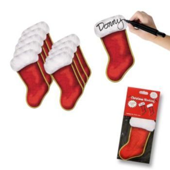 Christmas Holiday Stocking Cutouts