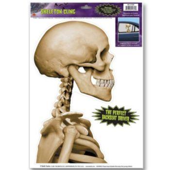 Skeleton Back Seat  Driver Car Cling