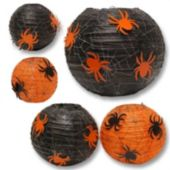 Spider Web Paper Lanterns