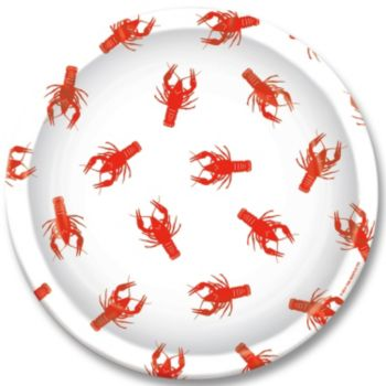 "Crawfish 9"" Plates"