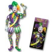 Mardi Gras Jester Coutout