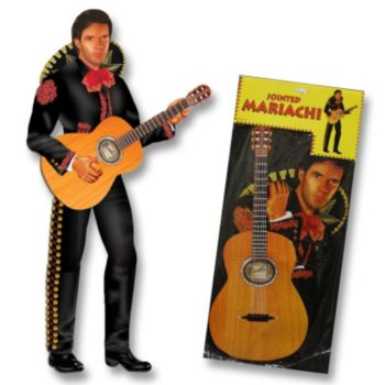 Mariachi Man Jointed Cutout
