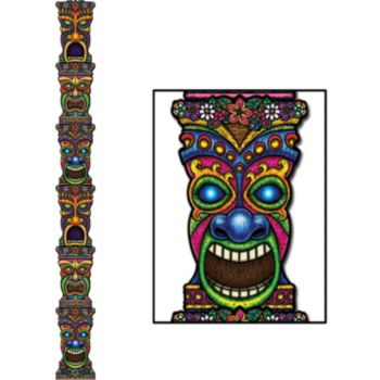 Tiki Totem Pole  Jointed Cutout