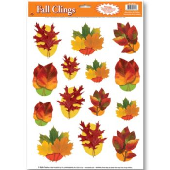 Autumn Leaf  Window Clings