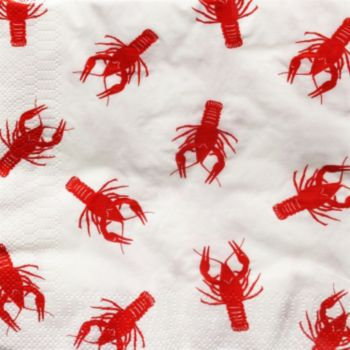 Crawfish Lunch Napkins