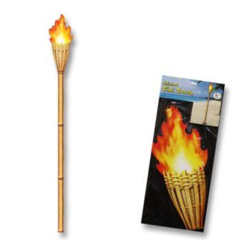 Tiki Torch Cutout