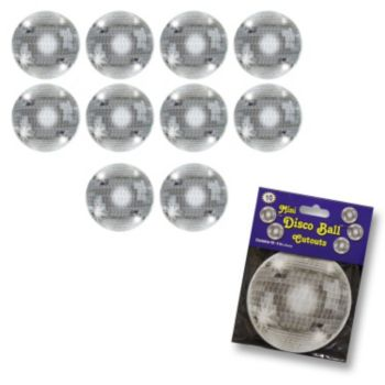 Disco Ball Mini Cutouts