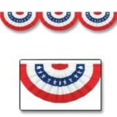 Patriotic Bunting Cutout