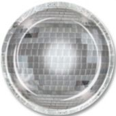 "Disco Ball 9"" Plates - 8 Pack"