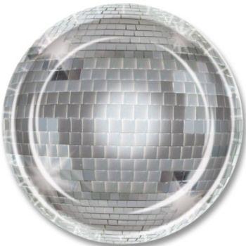 "Disco Dance   9"" Plates"