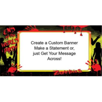 Zombies World Custom Banner