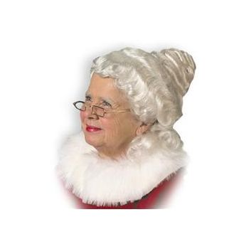 Mrs. Claus Adult Wig