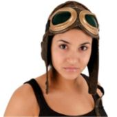 Aviator Brown Hat
