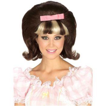60's Princess Brownblonde Combo Wig