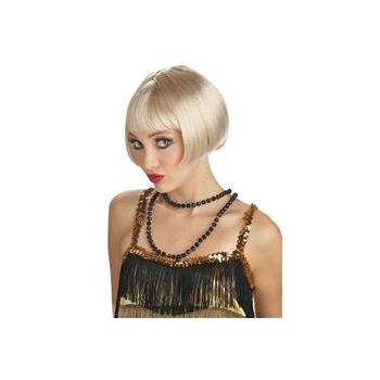 Flirty Flapper Blonde Wig