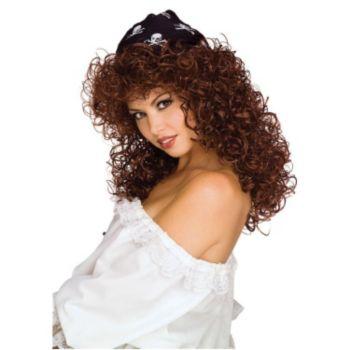 Sexy Pirate Brunette Wig