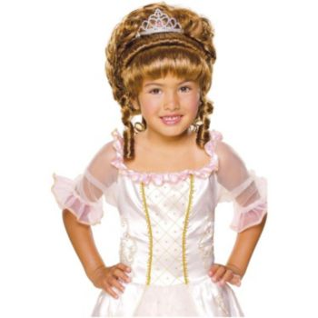 Child Princess Wig With Tiara