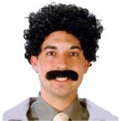 Eurasian Traveler Wig & Mustache Set