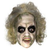 Beetlejuice 34 Vinyl Mask With Hair