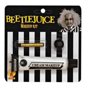 Beetlejuice Face Paint Kit