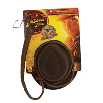 Indiana Jones Hat & Whip Set
