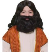 Biblical Wig Child Beard Set