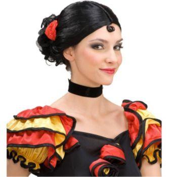 Spanish Senorita Wig