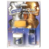 Silver Metal Mania Face Paint Kit
