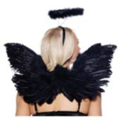 Black Feather Angel Deluxe Accessory Kit