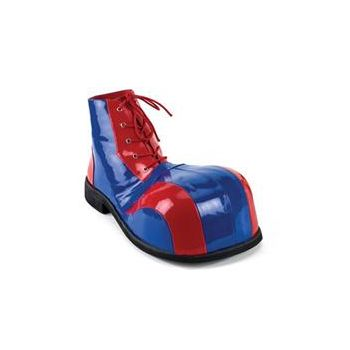 Blue & Red Clown Adult Shoes