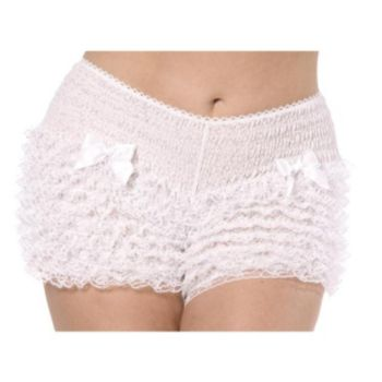 Bijou Boutique White Ruffled Pantaloons
