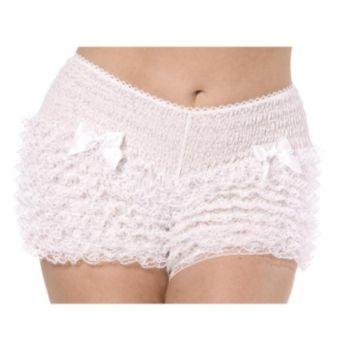 Bijou Boutique White Ruffled Pantaloons