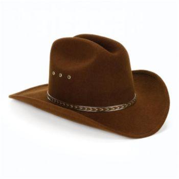 Brown Cowboy Hat Child Size