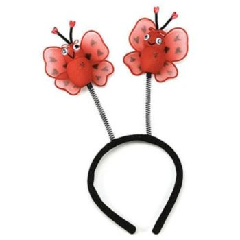 Ladybug Antennae Child Headband