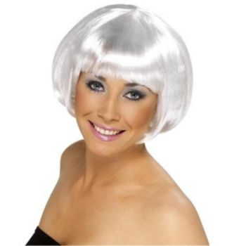 Winter White Bob Wig