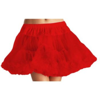 Red Plus Tulle Petticoat