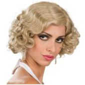 Blonde Waves Flapper Wig
