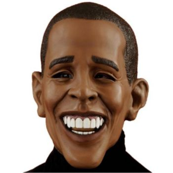 Deluxe Barack Obama Adult Mask