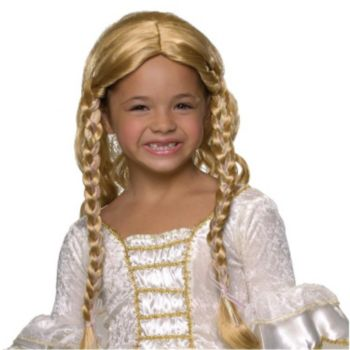 Blonde Princess Child Wig
