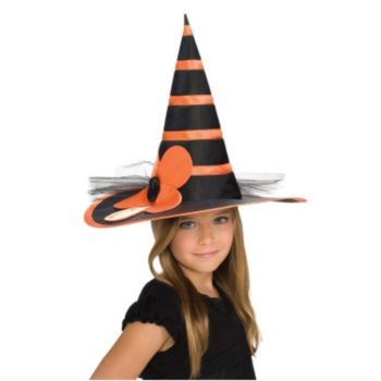 Child Orange Witch Hat