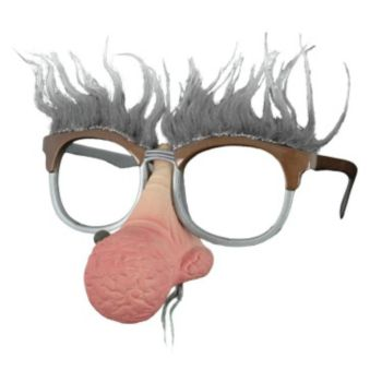 Geezer Nose Hair Glasses