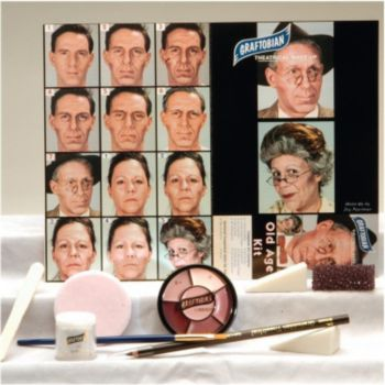 Old Age Face Paint Kit