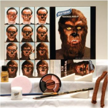 Werewolf Face Paint Kit