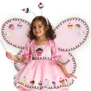 Cupcake Fairy Child Wings