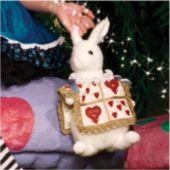 Wonderland Rabbit Plush Purse