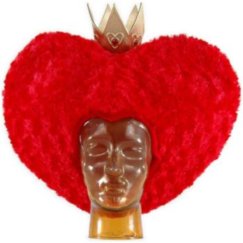 Alice In Wonderland Movie - Red Queen Hat Adult